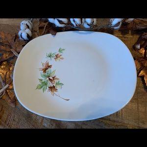 Vintage Salem Co. Large Maple Leaf Platter